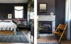 Sunset Idea House — Lauren Nelson Design Scandinavian Interior Doors, Master Bedroom, Sunset, Black And White, Design, Home Decor, Myrtle, Houses, Interiors
