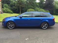 The Skoda Octavia Estate VRS #carleasing deal | One of the many cars and vans available to lease from www.carlease.uk.com