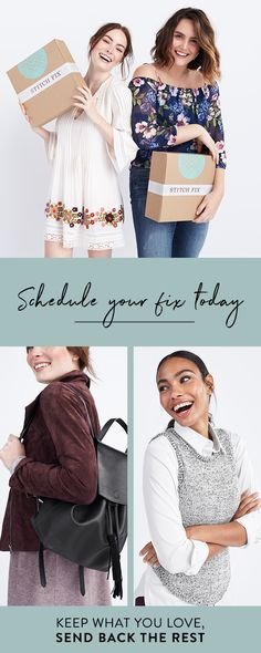 It's your dream wardrobe, on your own terms! Stitch Fix is the personal styling service tailored to your taste, budget and lifestyle. The styling fee is $20, and can be used towards your final order. Send back what you don_�_t want in a prepaid USPS return envelope. It couldn_�_t be easier.