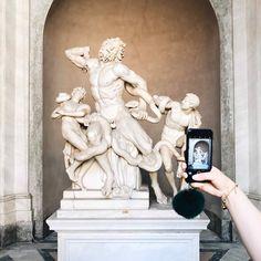 Visita ai Musei Vaticani: scultura del Laocoonte www.annascrigni.com