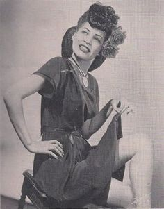"""African American singer and actress Ruby Hill in 1946 as she appeared in the program for the Broadway production of """"St. Louis Woman,"""" written by Arna Bontemps and Countee Cullen with music by Harold Arlen and lyrics by Johnny Mercer."""
