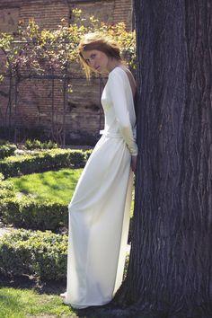 Colección vestidos de novia de Moisés Nieto · Fotografía, Geraldine Leloutre