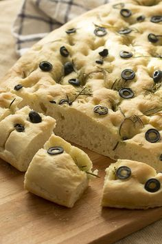 Focaccia al romero. My Recipes, Italian Recipes, Bread Recipes, Sweet Recipes, Cooking Recipes, Favorite Recipes, Pain Thermomix, Thermomix Bread, Gula