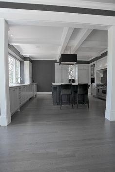 Gray kitchen Ansley Park contemporary kitchen