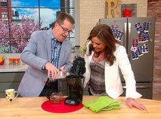 Rinsing out your coffee pot isn't going to cut it when it comes to cleaning your whole coffee maker. Peter Walsh shows you what you need to do once a month to clean the guts of your machine. #SpringCleaning