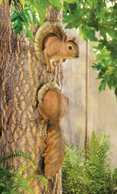 Oh my goodness!! So Cute! Hanging Squirrel Tree Art! New at CritterCreekRanch
