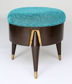 Shop stools and other antique and modern chairs and seating from the world's best furniture dealers. Mcm Furniture, Vintage Furniture, Furniture Design, Furniture Removal, Cheap Furniture, Upholstered Stool, Ottoman Stool, Vintage Stool, Chairs