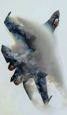 Sukhoi >>> 27 or 35 - pinperest Military Jets, Military Weapons, Bomber Plane, Jet Plane, Air Fighter, Fighter Jets, Avion Jet, Russian Military Aircraft, Photo Avion