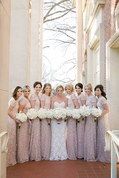 284a8d2bb681 Pop Parties - Planning - Dallas, TX - WeddingWire. Metallic Bridesmaid  DressesPink ...