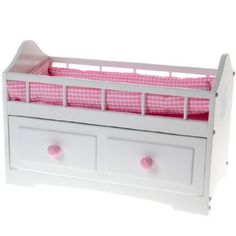 Butterflies(TM) Baby Doll Crib Play Set http://shop.crackerbarrel.com/Butterflies-trade-Baby-Doll-Crib/dp/B00FPP5XAC