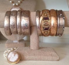 More antique/vintage bracelets.