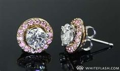 Pink Diamond accents