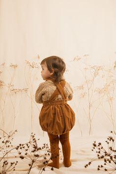 Kids Unisex Ketiketa Nick Sweater - Ochre Melange on Garmentory Baby Jumper, Baby Girl Sweaters, Marsh Marigold, Collar And Cuff, Unisex Baby, The Hobbit, Rib Knit, Boy Outfits, Hippie Kids