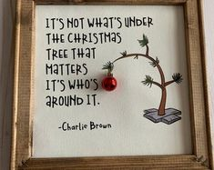 Charlie Brown Christmas – Charlie Brown Tree – Charlie Brown Quote – Canvas Art – Christmas decoration – Christmas Gift - Everything About Christmas All Things Christmas, Winter Christmas, Christmas Holidays, Christmas Ornaments, Quotes About Christmas, Charlie Brown Christmas Quotes, Christmas Present Quotes, Holiday Quotes Christmas, Charlie Brown Christmas Decorations