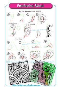 Doodle Art Designs, Doodle Patterns, Zentangle Patterns, Zentangle Drawings, Doodles Zentangles, Doodle Drawings, Tangle Doodle, Tangle Art, Usa Tumblr