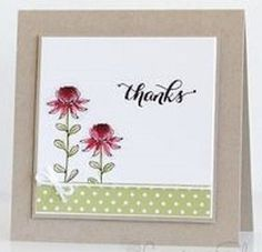 Super flowers wild field stampin up 21 Ideas Scrapbooking, Scrapbook Cards, Washi Tape Cards, Stamping Up Cards, Mothers Day Cards, Sympathy Cards, Paper Cards, Cool Cards, Creative Cards