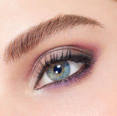 Give free rein to the brilliant @abagiu - Lancôme National Makeup Artist from Romania - to create an eye look and you will get a vibrant purple & pink eye style! Created with Audacity in Paris Palette!  #Lancôme #EyeShadow #Audacity #Palette #NMA #NationalMakeupArtist by lancomeofficial