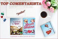 Saleta de Leitura: TOP COMENTARISTA DE JUNHO 2018