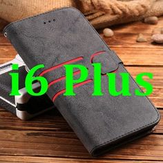 FLOVEME I6 4.7/ 5.5 Retro Fashion Card Slot+ Photo Frame Flip Case For iPhone 6 6S For iPhone 6 Plus / 6S Plus PU Leather Cover