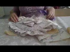 Tutorial porta oggetti portamollette cucito creativo - YouTube