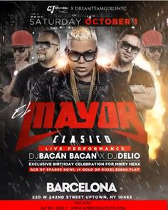 Barcelona Lounge - Club Barcelona Bronx - Vip & Birthday Packages available…
