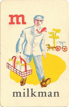 M is for Milkman printable