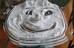 Shaving Cream Painting  www.pennilessteacher.com