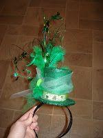 brain blobs and verbal vomit: St. San Patrick Day, Sant Patrick, Diy Fashion Accessories, Bow Accessories, St Patrick's Day Costumes, Costume Ideas, St Patricks Day Hat, St Patrick's Day Decorations, Diy Headband