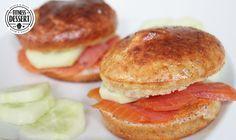 5/10 - einfach, okay, nicht in Muffinformen backen - ergibt 6 Brötchen a 117 kcal - Chia- Eiweißbrötchen