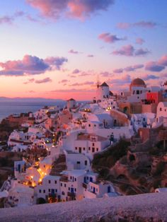 Santorini, Greece. stranded here for a week...not a bad place to be stuck