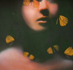 Time Flies by Victoria Audouard Dark Paradise, Mona Lisa, Victoria, Artist, Artwork, Anxious, Patience, Maya, Butterflies
