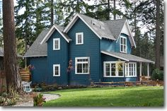 This really is my dream house. Small house plan by Ross Chapin. So much character!!