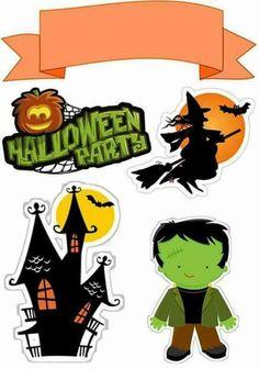 Halloween Infantil, Bolo Halloween, Halloween Banner, Outdoor Halloween, Diy Halloween Decorations, Scary Halloween, Halloween Themes, Halloween Crafts, Halloween Stuff
