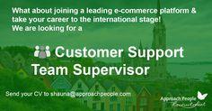 International Jobs, Cork Ireland, Career Opportunities, Customer Support, Job Description, Job S, Dream Job, Opportunity, How To Apply