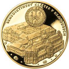 BENEDIKTINSKÝ KLÁŠTER V KLADRUBECH - 900. VÝROČÍ ZALOŽENÍ ZLATO Personalized Items