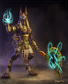 Official Smite Anubis Concept by PTimm on @DeviantArt