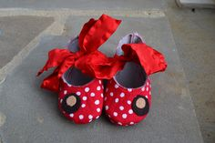 too cute!  i'm getting these if we have another girl someday :) Ohio State Baby Shoes by littlebuckeyenut on Etsy
