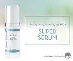 Super Serum!!! glo's Top selling serum to refine texture, smooth lines  brighten skin. Get it at Bella Aesthetics 781-383-0000!