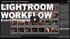 Good video showing a typical workflow one photographer uses after photographing an event. It covers form the initial Import of the photos to Export of the finished product.  www.dons-digital-photo-corner.com