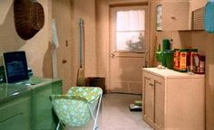 Brady Bunch Laundry Room