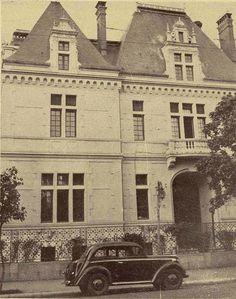 Clădirea Institului Francez de pe Bulevardul Dacia, 1939. Foto: Ilustrațiunea Română