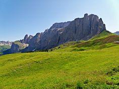 Sella Towers, Dolomites #Italy