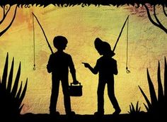 Tom Sawyer and Huckleberry Finn | Tom and Huck Finn by SomeoneWhoDoodles