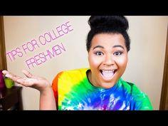 TIPS FOR COLLEGE FRESHMEN   Darnelle Scott - YouTube