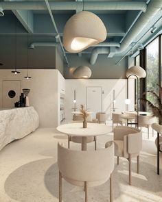 Лучший дизайн интерьера в Алматы — Lenz Architects Cafe Shop Design, Coffee Shop Interior Design, Restaurant Interior Design, Commercial Interior Design, Office Interior Design, Commercial Interiors, Office Interiors, Architecture Restaurant, Interior Architecture