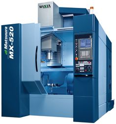 The 5 axis, single table (Ø300mm or Ø500mm option - not including side tables) Matsuura MX-520. Since its launch a few short years ago, over 700+ companies worldwide have invested in this market leading CNC machine tool - 70+ of which are based in the UK.