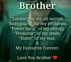 Best Brother Quotes And Sibling Sayings Best Place to Collect Daily Boost with Motivational Quotes, Health Tips and Many More.Best Brother Quotes And Sibling Sayings- Best Brother Brother Sister Love Quotes, Brother And Sister Relationship, Brother Birthday Quotes, Sister Quotes Funny, Brother And Sister Love, Daughter Quotes, Mother Quotes, Funny Quotes, Funny Sister
