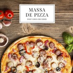 Realizando os desejos de muuitos internautas: um passo a passo fácil de massa de pizza! É só clicar na foto para conferir :)