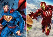 E se os super-heróis fossem patrocinados por marcas famosas?