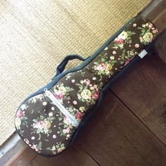 concert ukulele case Floral Pattern Ukulele Bag Made by cherijame